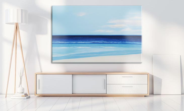 painting of the sea